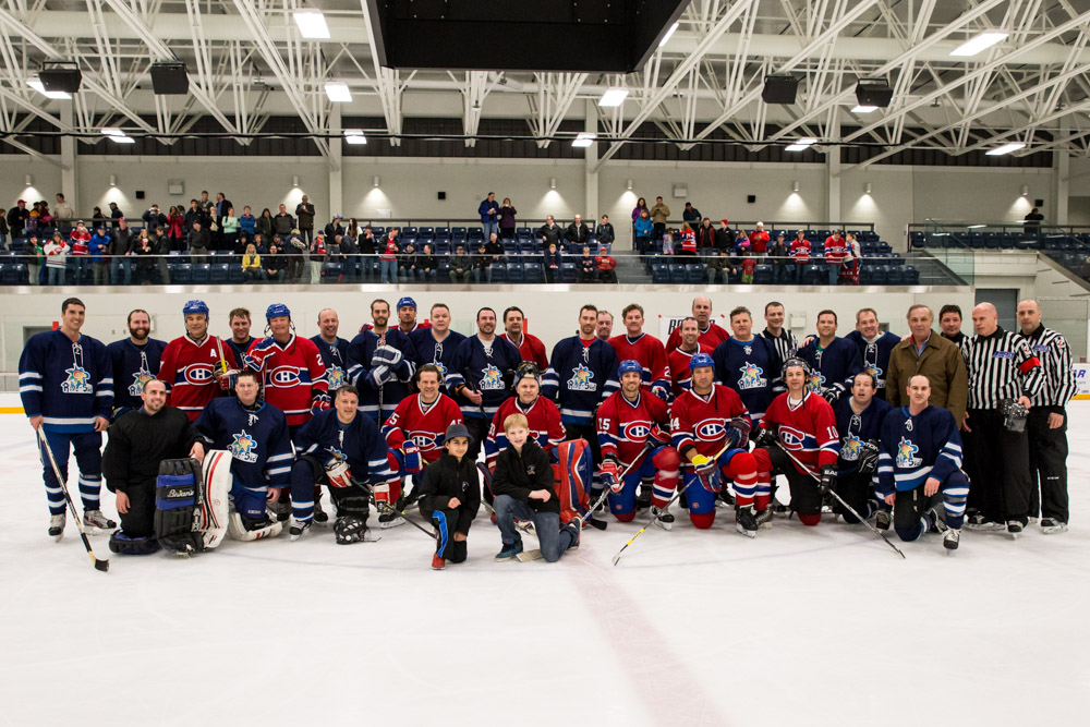 Partie de Hockey (anciens Canadiens)