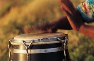 Playing a simple drum is a start...helps communication, self-esteem, re-organizing the brain by synchronizing its various parts....
