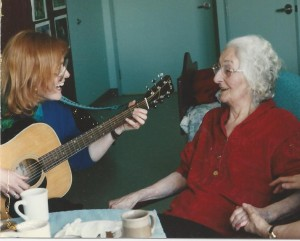 Music therapy can be one-to-one
