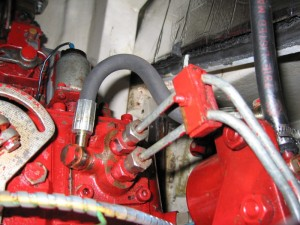 New hose Installed with new Banjo Fittings