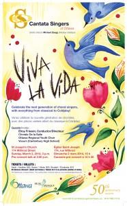 March 2, 2014 -  Cantata Singers of Ottawa