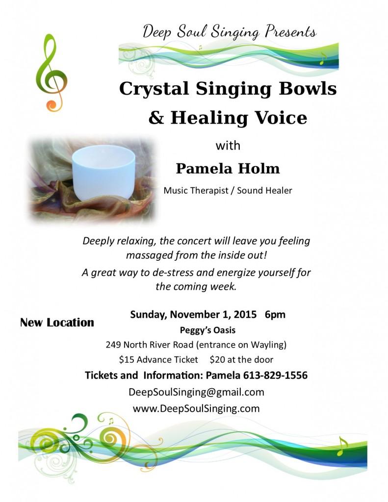Concert Details Nov 1, 2015 - Poster